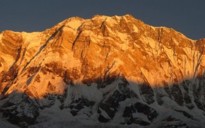 Sunrise View over Mount Annapurna