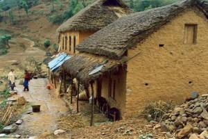 Home of Indigenous Peoples in Village.