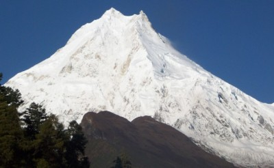 The Mount Manaslu